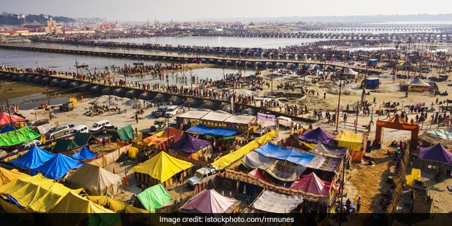 Swachh Kumbh Mela Uttar Pradesh Chief Minister Yogi Adityanath has directed officials to construct 1,22,000 toilets in Allahabad