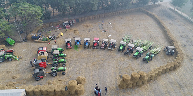 Stubble Burning: A Bale Of Paddy Straw- Convert It Into Biofuel, Don't Burn It, A Punjab Startup Shows The Way