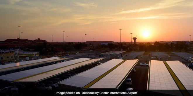 Renewable Energy To Fight Pollution: Cochin International Airport Is World's First Fully Solar Powered Airport