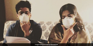 'Masking Our Emotions': Farhan Akhtar & Priyanka Chopra Battle Delhi's Pollution With Masks