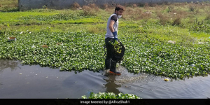 After Versova Beach Cleanup, Afroz Shah Eyes Mithi River In Mumbai To Make It Waste-Free