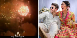 Priyanka Chopra, Nick Jonas Celebrate Their Wedding By Bursting Crackers, Twitterati Remind Actress About Her Anti-Pollution Campaign