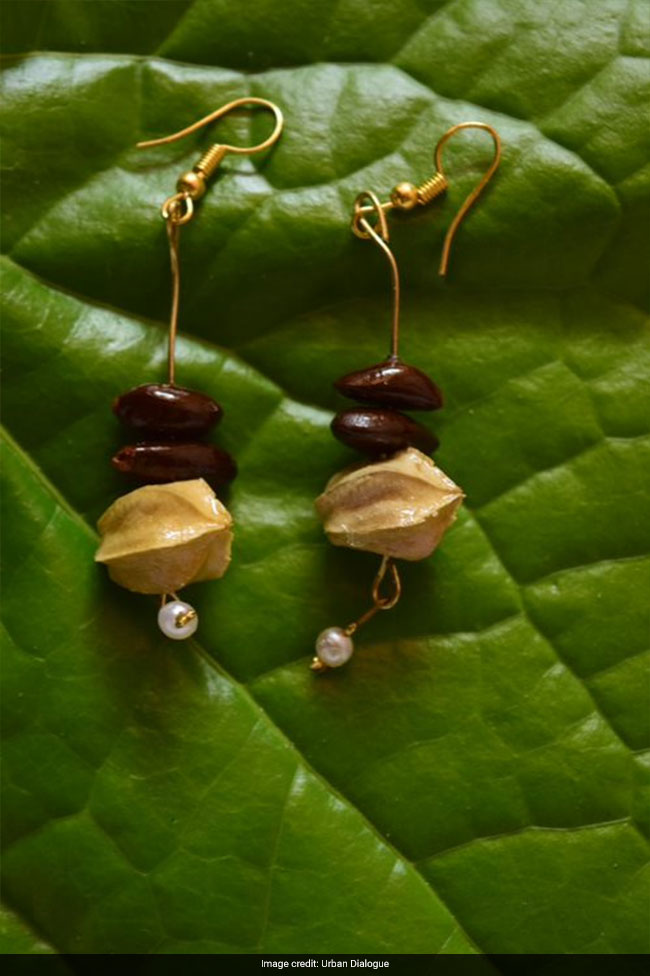 Ever Heard Of Jewellery Made From Seeds? This Duo From Nashik Gives An Eco-Friendly Spin To Accessories