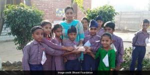 These Students In Ludhiana Are Giving A Swachh Twist To Birthday Celebrations At School