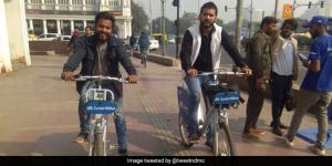 Air Pollution: Delhiites Get Ready To Bike Through The Town As NDMC Launches Public Bike Sharing Service