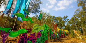 Recycled Art Installations Capture Essence Of Marine Life At Bengaluru's Green Music Festival