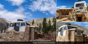 Have You Seen The Viral Picture Of 'Roof-With-A Jeep' From Ladakh? 3 Idiots Inspiration Sonam Wangchuk Reveals The Story