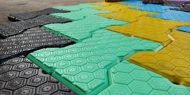 Plastic Is Choking Our Planet, To Save It, This City Has A Solution - Anti-Slippery And Recyclable Tiles