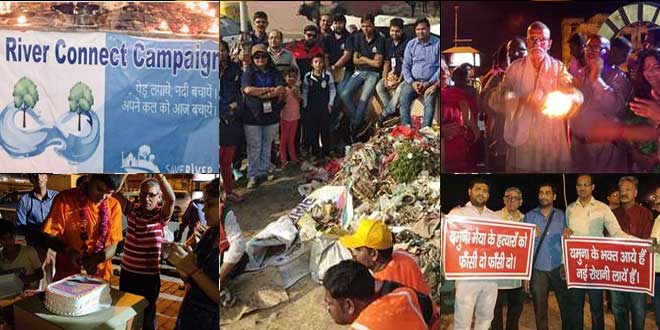 Yamuna Clean Up: Agra Conducts Weekly Cleanliness Drives And Swachhta Promoting Prayers For Reviving The River
