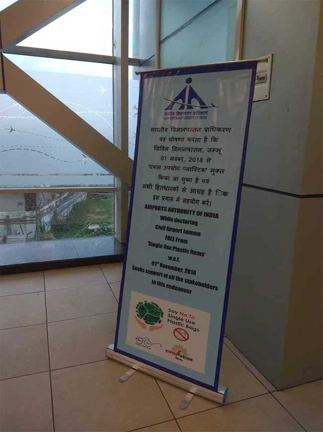 Jammu Airport Bids Adieu To Single-Use Plastic, Declares Itself Free From The Toxic Polluter