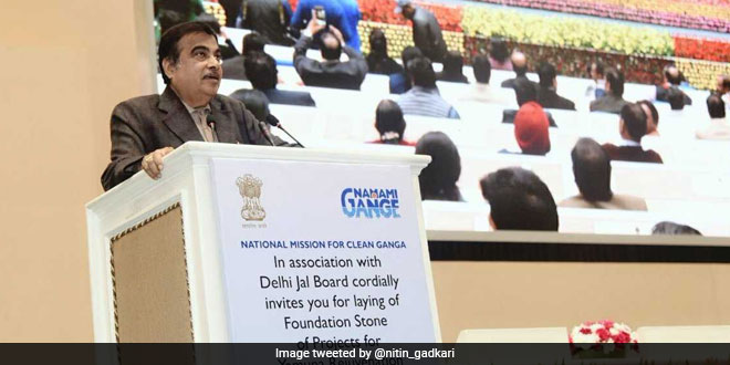 All Stakeholders Must Work Together To Free Delhi From Water, Air Pollution, Says Union Minister Nitin Gadkari