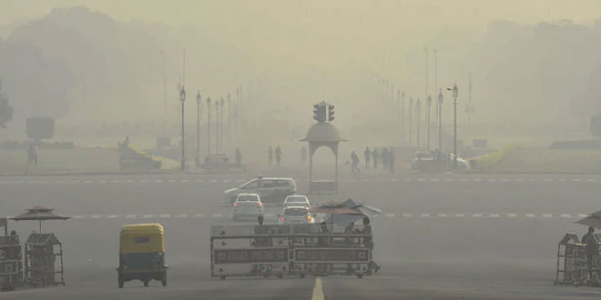 Air Pollution Crisis: Delhi's Air Quality Stays 'Severe' For Third Day, Likely To Worsen In Next Two Days