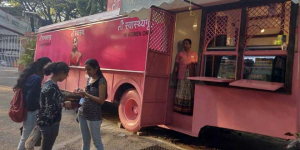 Old Buses Turned Into Swanky Toilets For Women In Pune