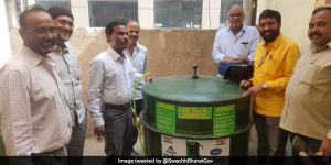 Mumbai Civic Body Produces Cooking Gas From Waste For Its Canteen In N-Ward