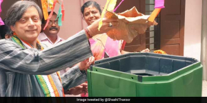 Shashi Tharoor Launches An International Technology To Tackle Waste In Thiruvananthapuram