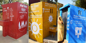 Swachh Sundar Shauchalaya Contest: Firozabad In Uttar Pradesh Paints Sustainable Development Goals On Toilets