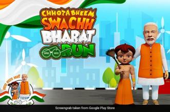 Chhota Bheem Dons Wields The Broom To Encourage Children To Adopt The Swachh India Agenda