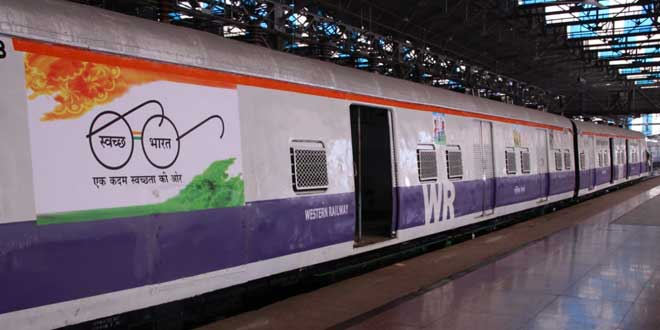 Western Railway has modified a 25-year-old train into a special Muck train