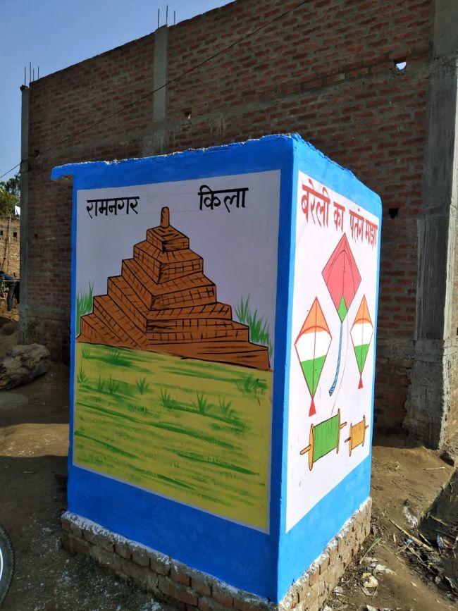 Swachh Sundar Shauchalaya Contest: Bareilly In Uttar Pradesh Depicts Cultural Heritage On Toilets