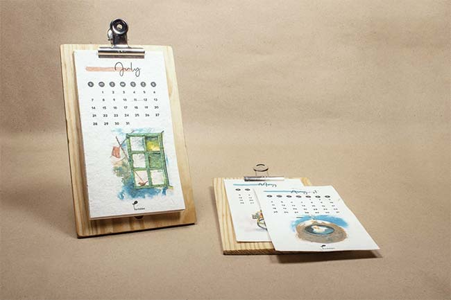 Calendar To Plant: This Duo From Agra Is Reducing Carbon Footprint And Paper Waste By Infusing Seeds In Paper