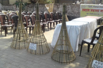 Assam Dumps Plastic Dustbins, Switches To Bamboo Bins