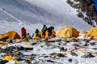 China Closes Mount Everest Base Camp To Tourists In Order To Deal With Waste Crisis