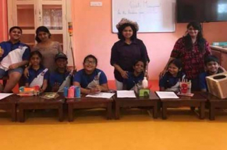 The 23-week session on waste management helps children in Chennai to recycle or reuse waste