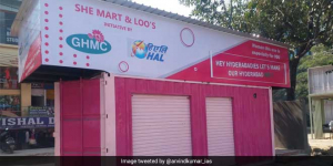 In A First For Hyderabad, City Launches Three Pink Toilets With Menstrual Hygiene Management Facilities