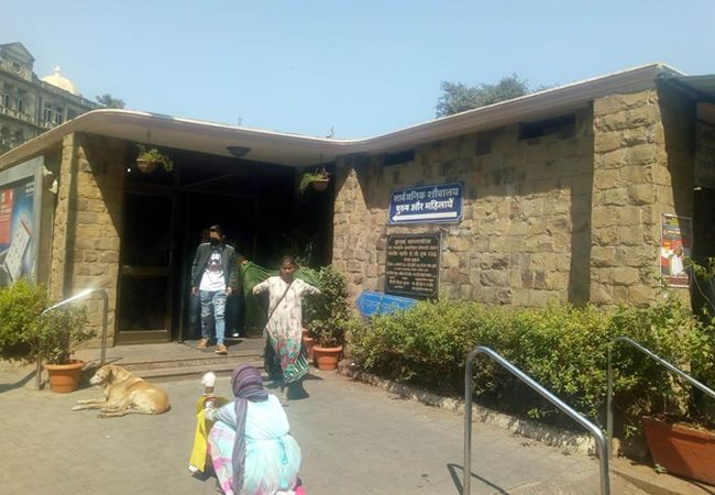A public toilet near Chhatrapati Shivaji Maharaj Terminus is cleaned 8 to 10 times in a day and has a toilet feedback system where citizens rate their experience