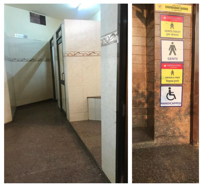 From tourists, sport players, morning walkers, college students to working professionals, hundreds of people use the toilet at Shivaji Park