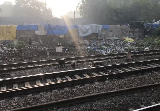 Open Defecation on railway tracks continues despite Mumbai being declared ODF in July 2017