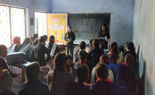 PadBank creates awareness in schools, slums and households