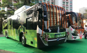 Kerala Gives Push To Its Electric Journey, Rolls Out Five New Buses That Can Run For Over 200 Km Range On A Single Charge