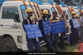 200 Manual Scavengers In Delhi Get Sewer Cleaning Vehicles Flagged Off By Chief Minister Arvind Kejriwal