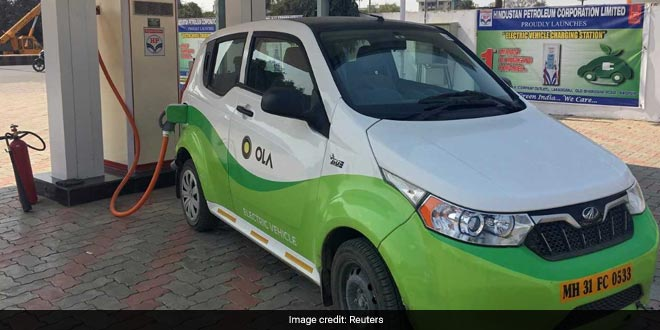 Cabs In India Go Electric As Service Providers Start Investing In Electric Mobility