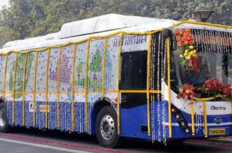 Delhi To Fight Air Pollution With Electric Vehicles As the Cabinet Approves 1,000 Low Floor Electric Buses