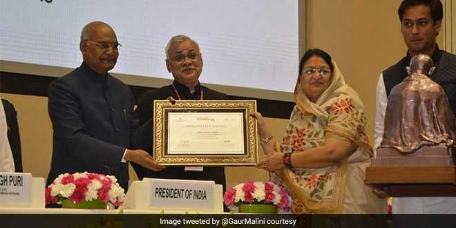 Indore Has Set A Very Good Example For Swachh Bharat Mission: President Ram Nath Kovind At Swachh Survekshan 2019