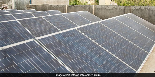As A Green Initiative Karimnagar Municipal Body Makes Rooftop Solar Panels Mandatory For Large Structures