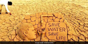 World Water Day 2019: Artist Sudarsan Pattnaik Spreads The Message Of 'Save Water, Safe Life' Through His Sand Art