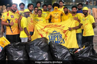 IPL 2019: 'Whistle Podu Army', CSK Fans Hear Suresh Raina's Plea, Collect Over 10 Kilos Of Garbage Post Match