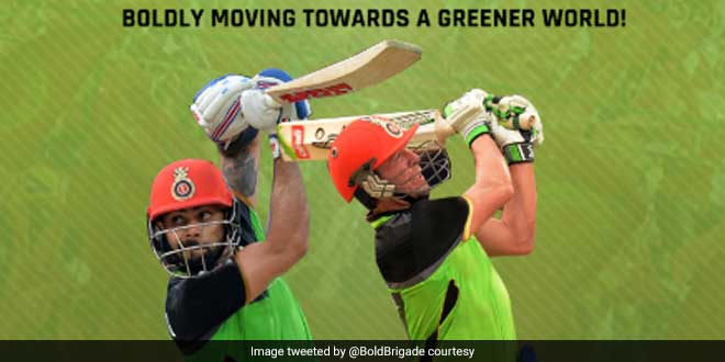 IPL 2019: When RCB Decided To Wear Green Jersey Against Delhi Capitals To Bat For The Planet