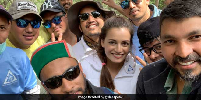 Ms. Mirza was in Himachal Pradesh, shooting her upcoming web series, when she decided to join the Sunday clean-up drive