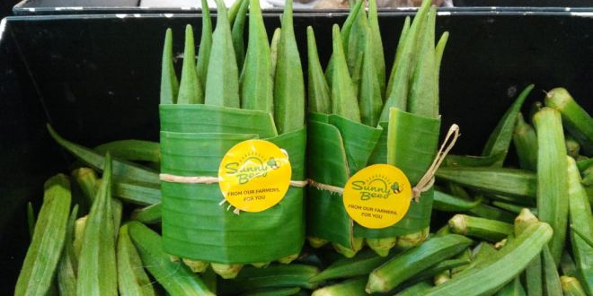 The Trend Of Using Banana Leaves To Pack Veggies And Fruits Instead Of Plastic Travels From Thailand To Chennai