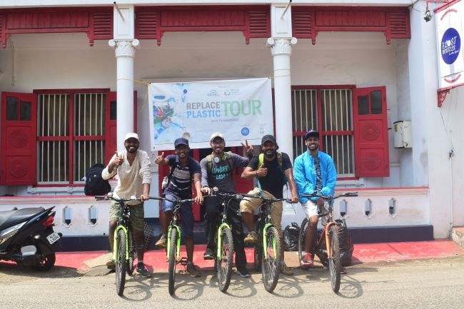 Kochi To Kanyakumari, Environmentalists Group Bicycle To 'Replace Plastic' And Educate Citizens