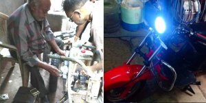Innovation From Gujarat: 60-Year-Old Specially Abled Man, A School Dropout, Builds Electric Vehicles Utilising Waste