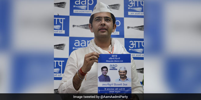 Lok Sabha Elections 2019: AAP Releases South Delhi's Poll Manifesto, Pollution And Water Crisis Grab The Attention