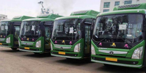 Vaishno Devi Pilgrims Can Now Visit The Holy Place Riding Electric Buses Deployed In Jammu City