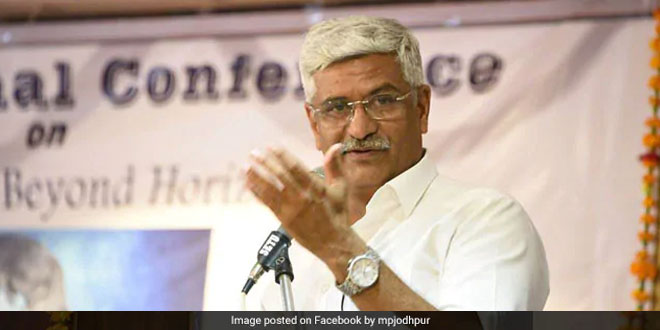 Jal Shakti Minister Gajendra Singh Shekhawat Launches Activities For Water Conservation In Jodhpur