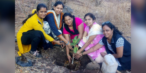 Tradition In Nashik Gets A Green Spin, Women Plant Banyan Saplings On Vat Savitri Pooja