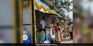 Telangana's Sircilla Gets India's First Eco-friendly Street Stalls Made Out Of Plastic Waste
